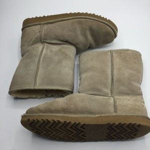 UGG Classic Short Suede Sheepskin Boots